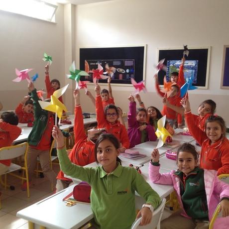 3. Sınıf Rüzgar Gülü Etkinliği…