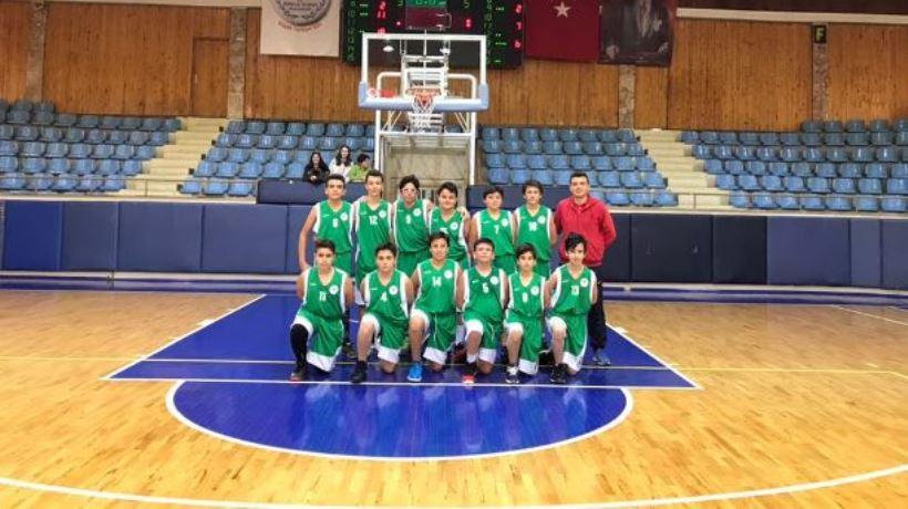 Okullar arası basketbol yıldız erkekler...
