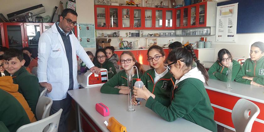 6. Sınıflarla Yoğunluk Deneylerimiz...