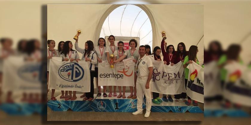 Okullar Yüzme Yarışmasında Konya Birincisiyiz...
