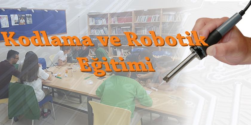 Kodlama ve Robotik Eğitiminde Lehim Yapıyoruz