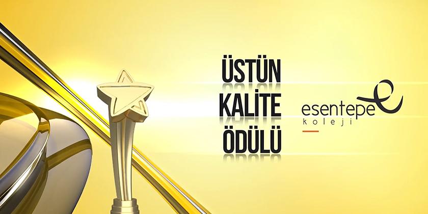 """Anadolu Kalite Zirvesi """"Üstün Kalite Ödülümüz""""..."""
