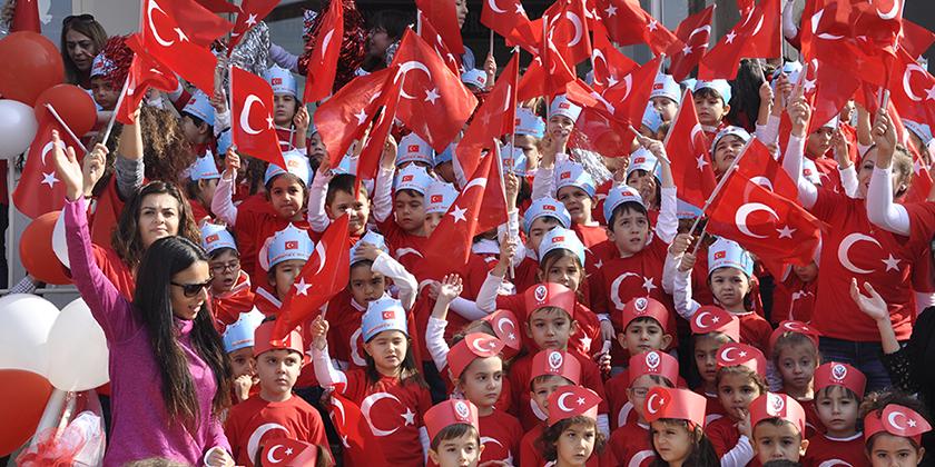 Anasınıfı Öğrencilerimiz Cumhuriyet Bayramını Kutladılar...
