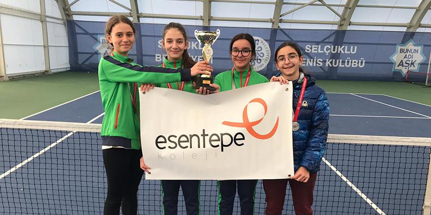 Yıldız Kızlar Tenis Müsabakalarındaki  Başarımız...