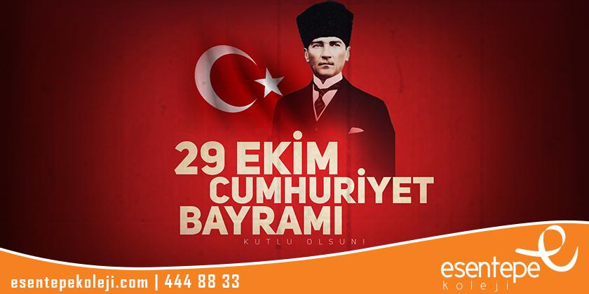 29 Ekim Cumhuriyet Bayramı Kutlu Olsun...