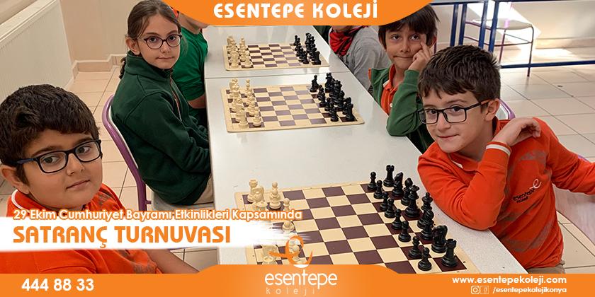 29 Ekim Cumhuriyet Bayramı Etkinlikleri Kapsamında Satranç Turnuvamız...